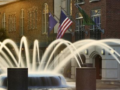Long Exposure on Fountain, Charleston, South Carolina, USA