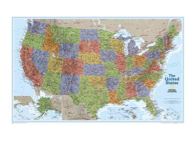 United States Explorer Map