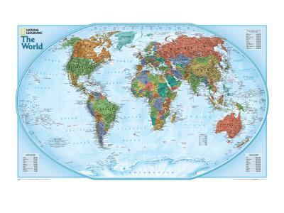 World Explorer Map