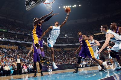 Los Angeles Lakers v New Orleans Hornets - Game Four, New Orleans, LA - April 24: Trevor Ariza and