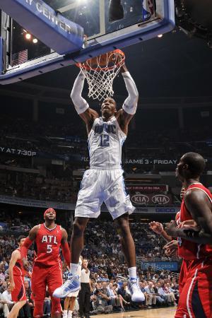 Atlanta Hawks v Orlando Magic - Game Two, Orlando, FL - April 19: Dwight Howard