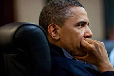 President Obama: Discussion of the mission against Osama bin Laden: Situation Room, May 1, 2011