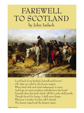 Farewell To Scotland