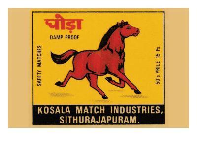 Kosala Match Industries Safety Matches