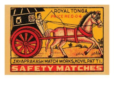 Royal Tonga Safety Matches