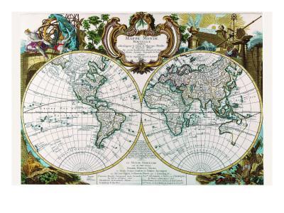 Mappe Monde Nouvelle
