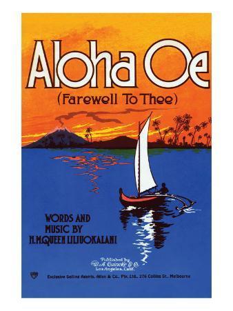 Aloha Oe (Farewell To Thee)