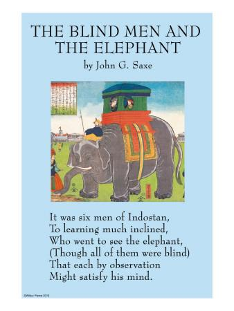 The Blind Men & the Elephant