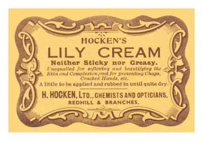 Hocken's Lily Cream