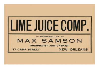Lime Juice Comp.