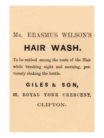 Mr. Erasmus Wilson's Hair Wash