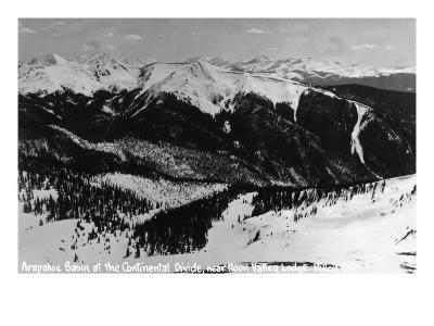 Dillon, Colorado - Arapahoe Basin at Continental Divide
