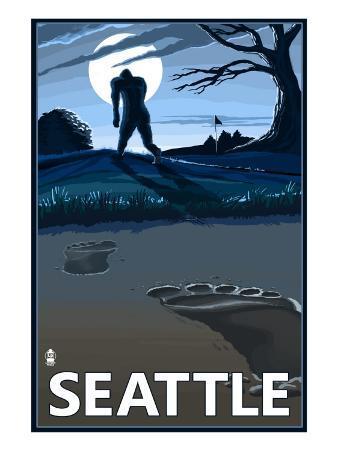 Bigfoot Scene in Seattle, WA
