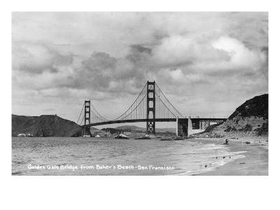 San Francisco, California - Golden Gate Bridge from Baker's Beach