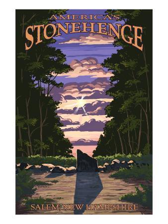 America's Stonehenge, New Hampshire - Sunrise