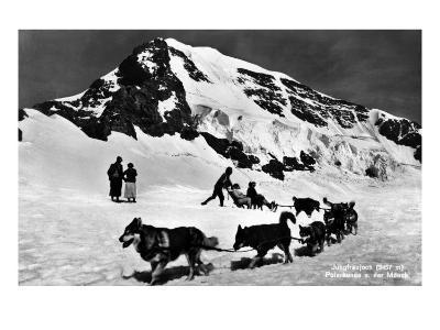 Switzerland - Dogsledding at Jungfraujoch