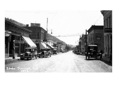 Idaho Springs, Colorado - Street Scene
