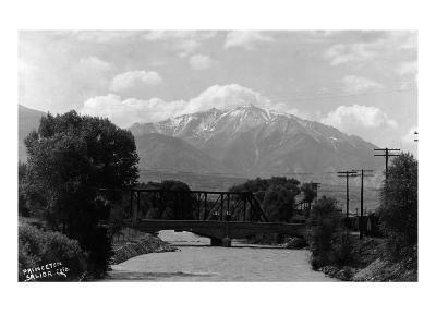 Salida, Colorado - View of Mt Princeton
