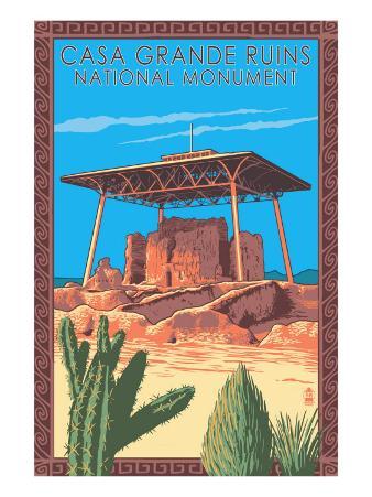 Casa Grande Ruins National Monument - Arizona