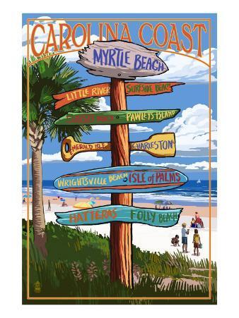 Myrtle Beach, SC - Destination Signs