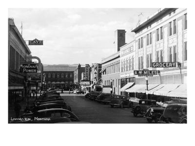 Livingston, Montana - Street Scene