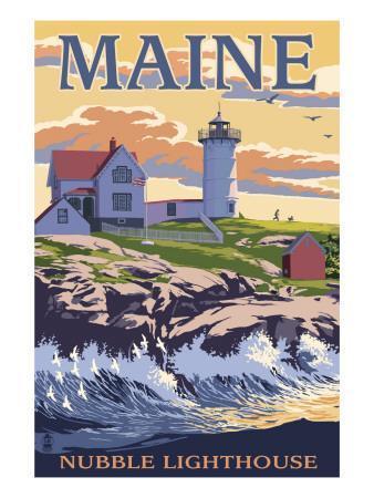 Nubble Lighthouse - York, Maine