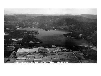 Idaho - Hayden Lake Aerial
