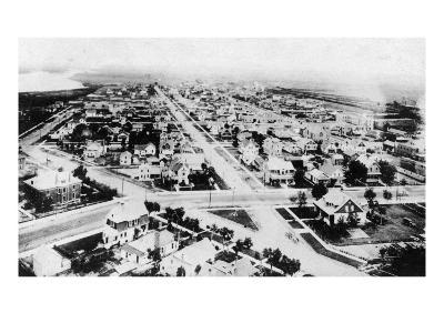 Glendive, Montana - Aerial of Residence District