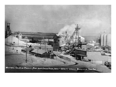 Wyoming - Westwaco Chlorine Production Mine near Green River