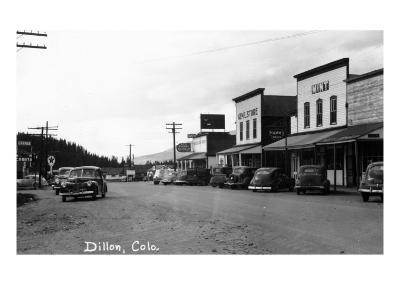 Dillon, Colorado - Street Scene