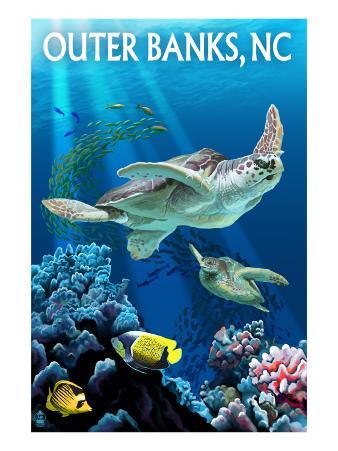 Outer Banks, North Carolina - Sea Turtles