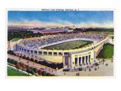 Buffalo, New York - Buffalo Civic Stadium View