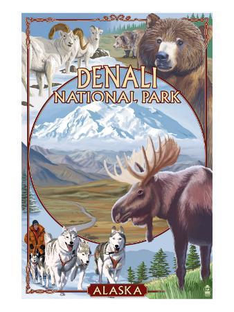Denali National Park, Alaska - Park Views