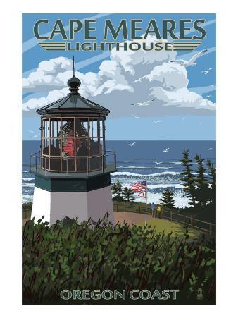 Cape Meares Lighthouse, Oregon Coast
