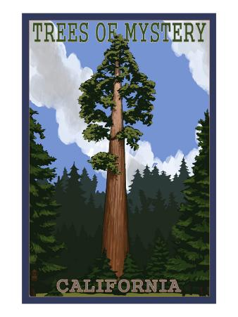 Trees of Mystery - California Redwoods