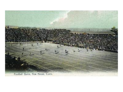New Haven, Connecticut - Football Game at Yale Bowl