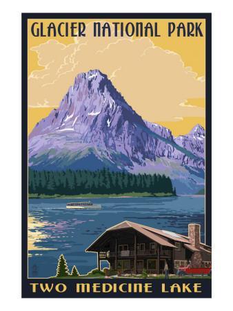 Two Medicine Lake - Glacier National Park, Montana