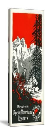 Vacation Spots in the Rockies Brochure, 1928