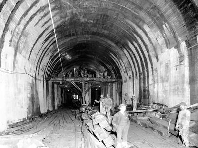Great Northern Tunnel Under Seattle, Jan. 25, 1904