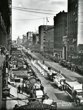 Labor Day Parade, Tacoma, WA, 1919