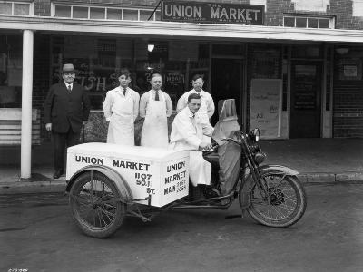 Union Market Delivery Motorcycle, 1927