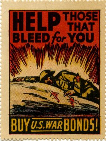 """Help Those That Bleed For You -- Buy U.S. War Bonds!"", 1943"