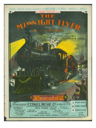 The Midnight Flyer: March-Two Step, 1903