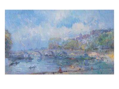 Le Pont Marie in Paris