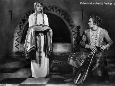 Margarete Schön and Bernhard Goetzke: Die Nibelungen: Siegfried, 1924