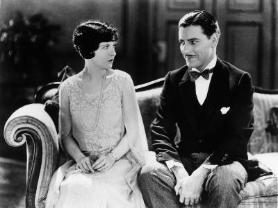 May McAvoy and Ronald Colman: Lady Windermere's Fan, 1925
