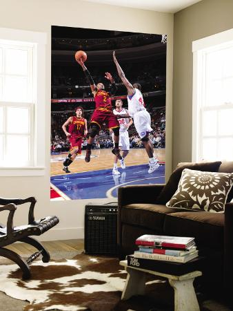 Cleveland Cavaliers  v Philadelphia 76ers: Mo Williams and Elton Brand