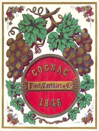 Cognac 1848 Label