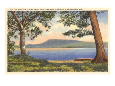 Lake Pleasant, Adirondack Mountains, New York