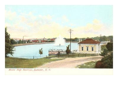 Mt. Hope Reservoir, Rochester, New York